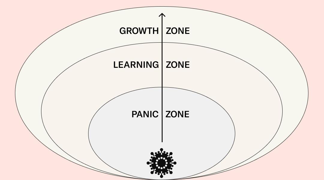 Aus der Krise wachsen: Von der Panikzone in die Wachstumszone